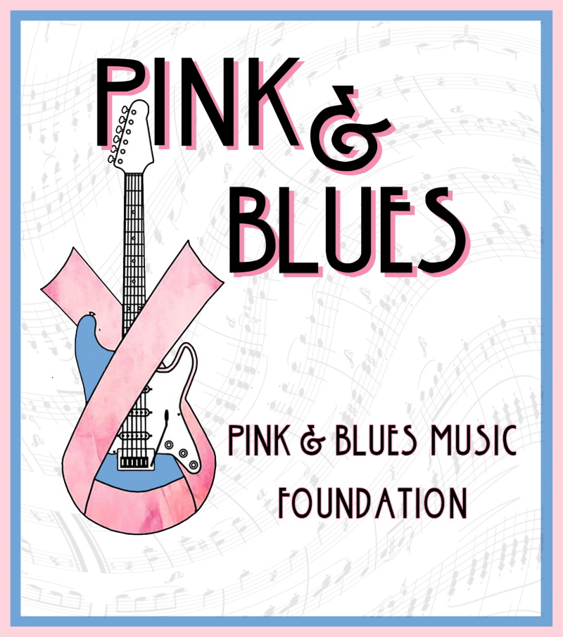 Pink and Blues Music Foundation flyer